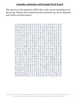 Geography Word Search Reviews