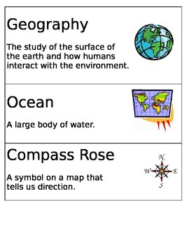 Geography Word Wall!