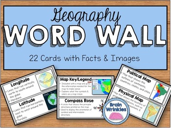 Geography Word Wall