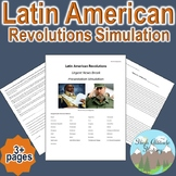 "Latin American Revolution ""Breaking News"" Simulation (Geography / World History)"