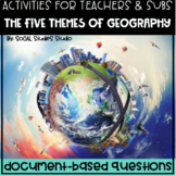Geography/World History Teacher/Sub DBQ: 5 Geography Themes