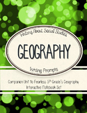Geography Writing Unit - Companion to Geography Interactive Notebook