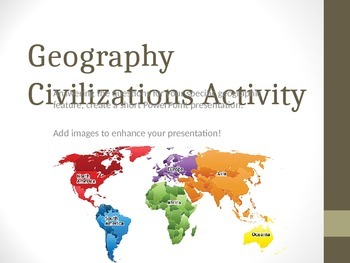 Geography affects Cultural development