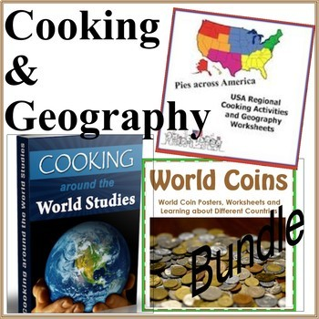 Geography and Cooking Bundle Set