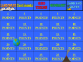 Geography and Landforms Jeopardy Game