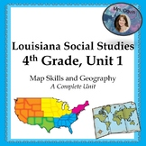 Louisiana Social Studies Standards, 4th Grade, Unit 1 (Full Unit!)