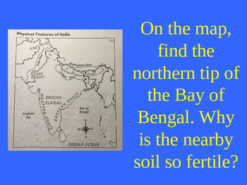 Geography and the Early Settlement of India Jeopardy