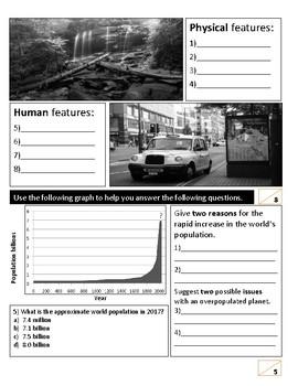 Geography baseline test