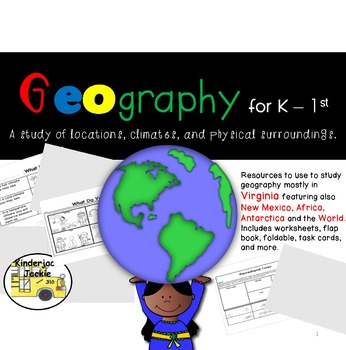 Geography for K - 1st