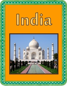 Similarities and difference between India and home: lesson bundle and resources!