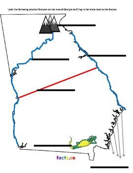 Geography in Georgia QUIZ