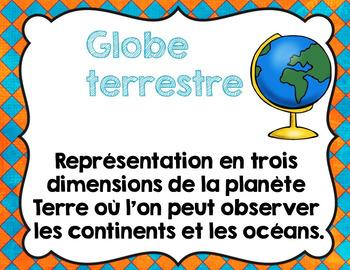 Geography interactive notebook/ Cahier interactif et activités {géographie}