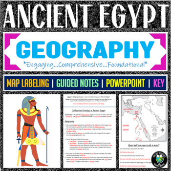 Geography of Ancient Egypt Guided Notes