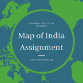 Geography of Ancient India Reading and Map Assignment