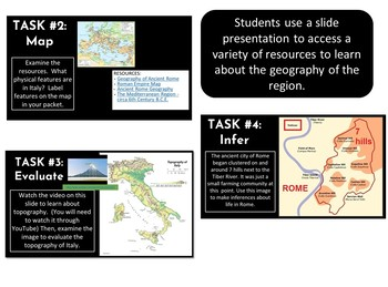 Geography and Early Beginning of Ancient Rome Hyperdoc