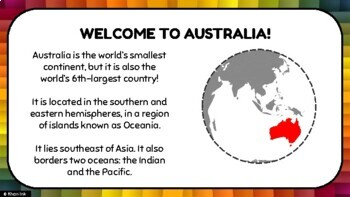 Geography of Australia: Physical & Political Features
