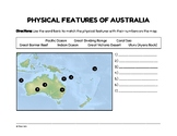 Geography of Australia (Worksheet)