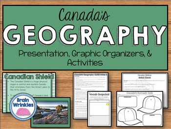 Geography of Canada (SS6G5)