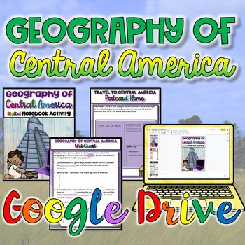 Geography of Central America {Digital}