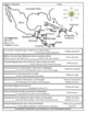 Geography of Central America, Mexico & Caribbean coloring activity in Spanish