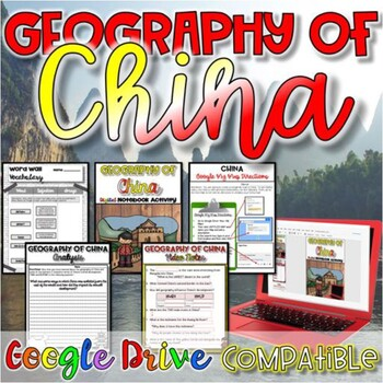 Geography of China {Digital AND Paper}