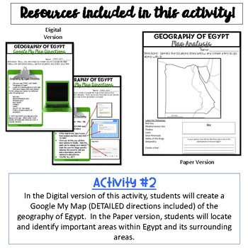 Geography of Egypt {Digital and Paper}