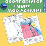 Geography of Egypt - Map Activity
