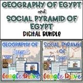 Geography of Egypt and Social Pyramid Bundle {Digital}