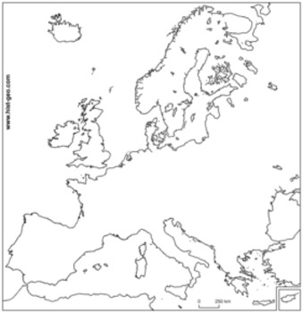 Geography of Europe Lesson