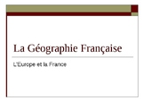 Geography of France Bundle