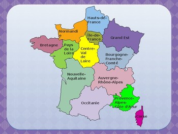 Gographie de la France Geography of France PowerPoint by jer TpT