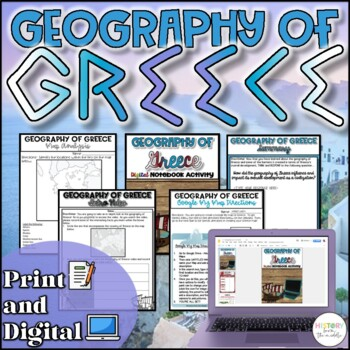 Geography of Greece Activity