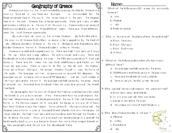 Geography of Greece: Greek Geography Overview