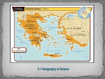 Geography of Greece Power Point