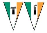 Geography of Ireland Bunting (Gaeilge)
