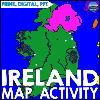 Geography of Ireland - Map Activity