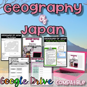 Geography of Japan {Google Drive Resource}