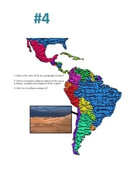 Geography of Latin America Carousel Graffiti Activity (Central & South America)