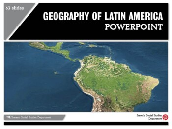 Geography of Latin America PowerPoint