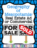 Geography of Mesopotamia (Fertile Crescent): Real Estate Ad or Commercial