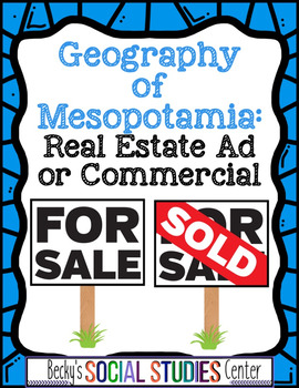 Geography of Mesopotamia (Fertile Crescent): Real Estate A