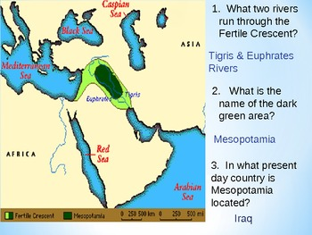 Geography of Mesopotamia Presentation