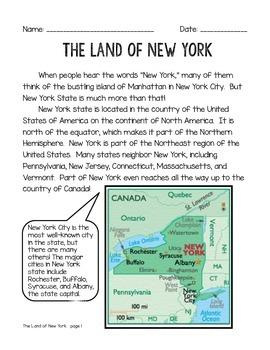 Geography of New York Mini Unit
