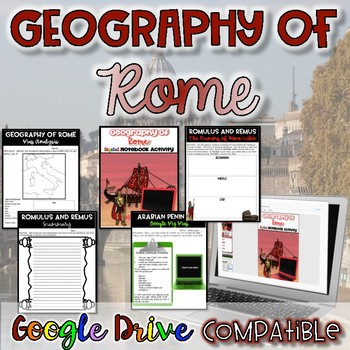 Geography of Rome Activity by History from the Middle | Teachers ...