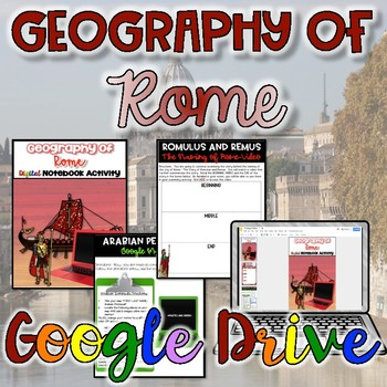 Geography Of Rome Teaching Resources Teachers Pay Teachers - Geography of rome