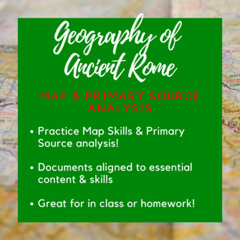 Geography of Rome Handout