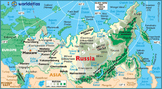 Geography of Russia Lesson Plan