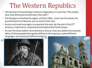 Geography of Russia & the Former Soviet Union