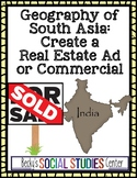 Geography of South Asia (India) Project - Real Estate Ad or Commercial