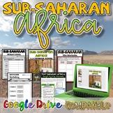 Sub-Saharan Africa Activity {Digital AND Paper}
